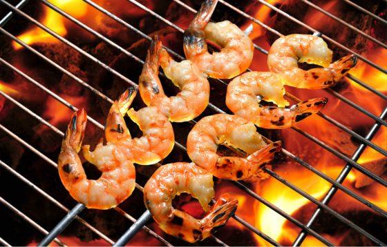 BBQ Grilled Shrimp