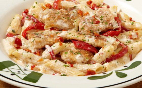 Smoked-Mozzarella-Chicken-Pasta