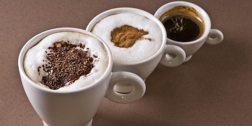 Coffee drinks objects