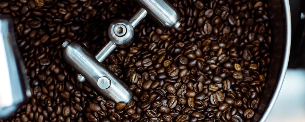 Dark roasts coffee beans