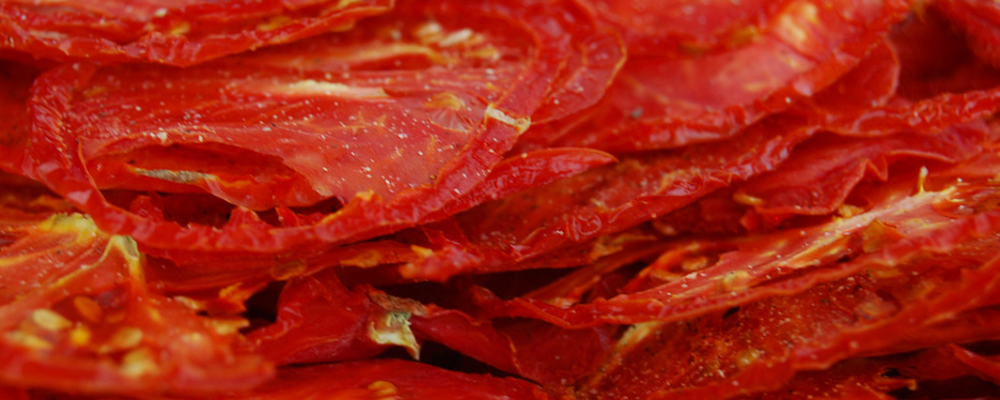 Dried Tomato Chips