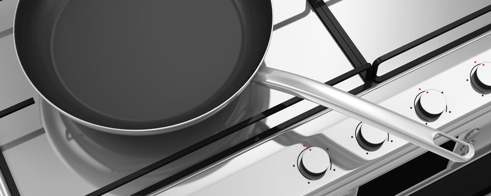 Gas Stove Steel Pan