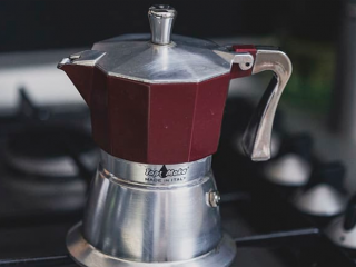 Moka Pot on the stove