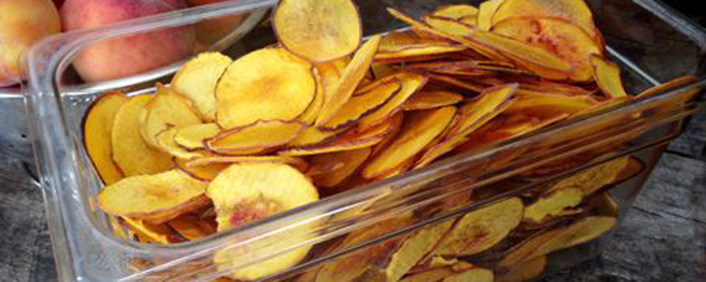 Peach Chips
