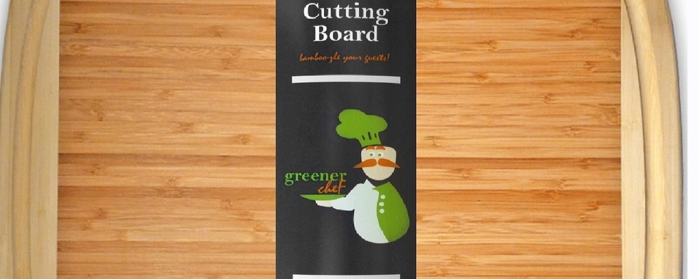Greener Chef Extra Large Bamboo Cutting Board