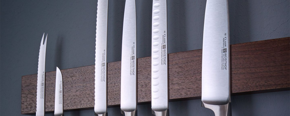 Set of wusthof knives