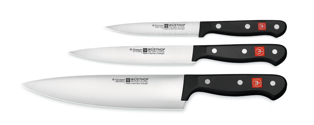 Wusthof gourmet knives